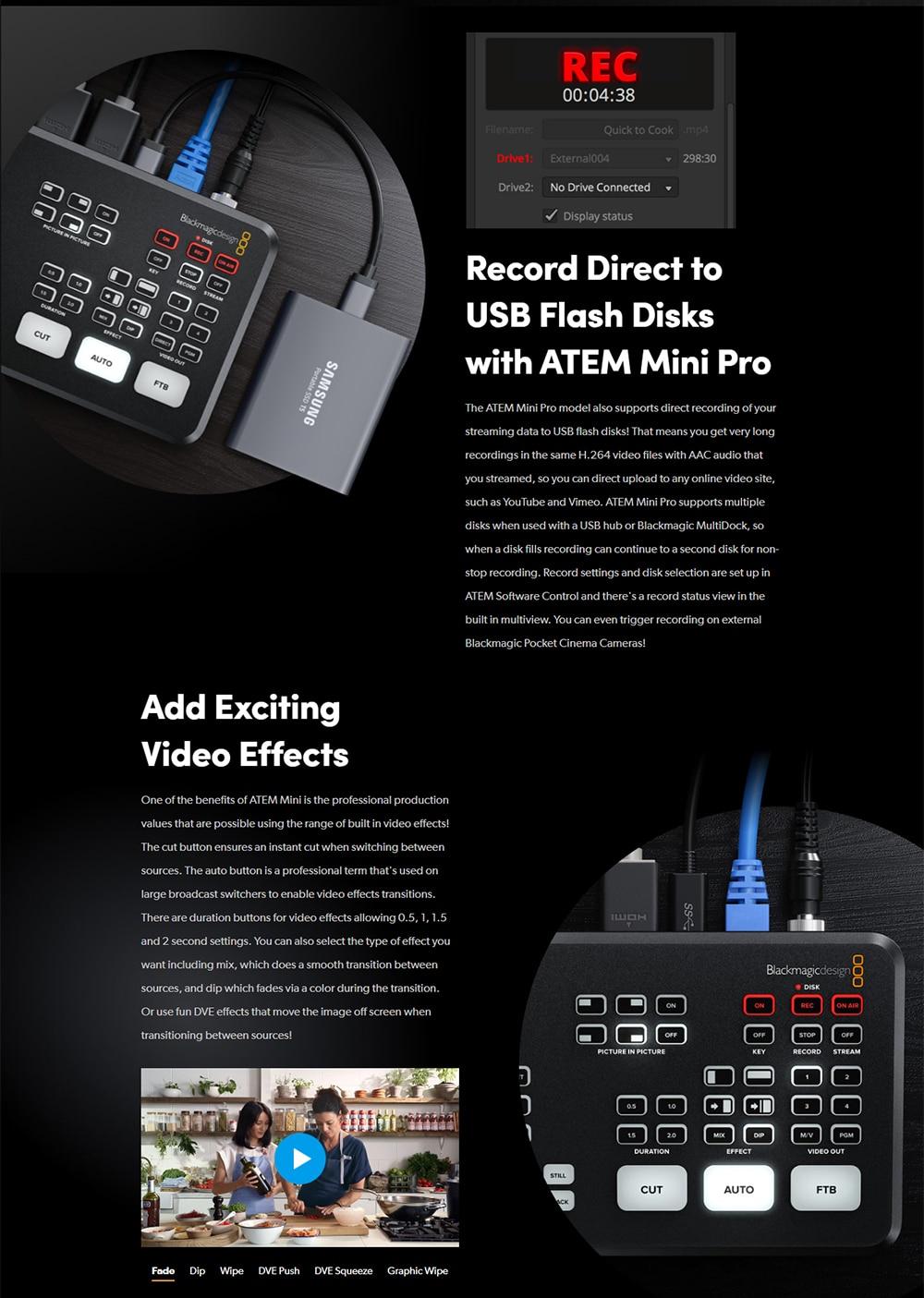 Blackmagic Design ATEM Mini Pro 9