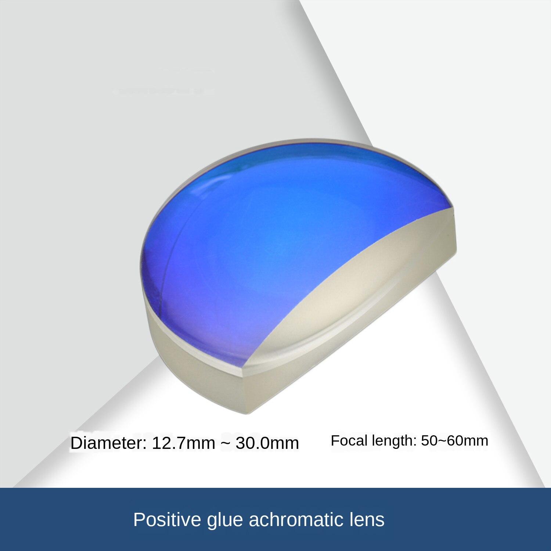 Customized Positive Achromatic Lens Diameter 12.7 / 15/16/25 / 25.4 / 30mm Focal Length 50 / 60mm