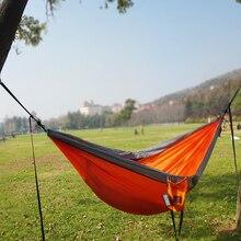 Hiking Hammock Backpacking Parachute Hanging Travel Nylon Outdoor Portable Tourist