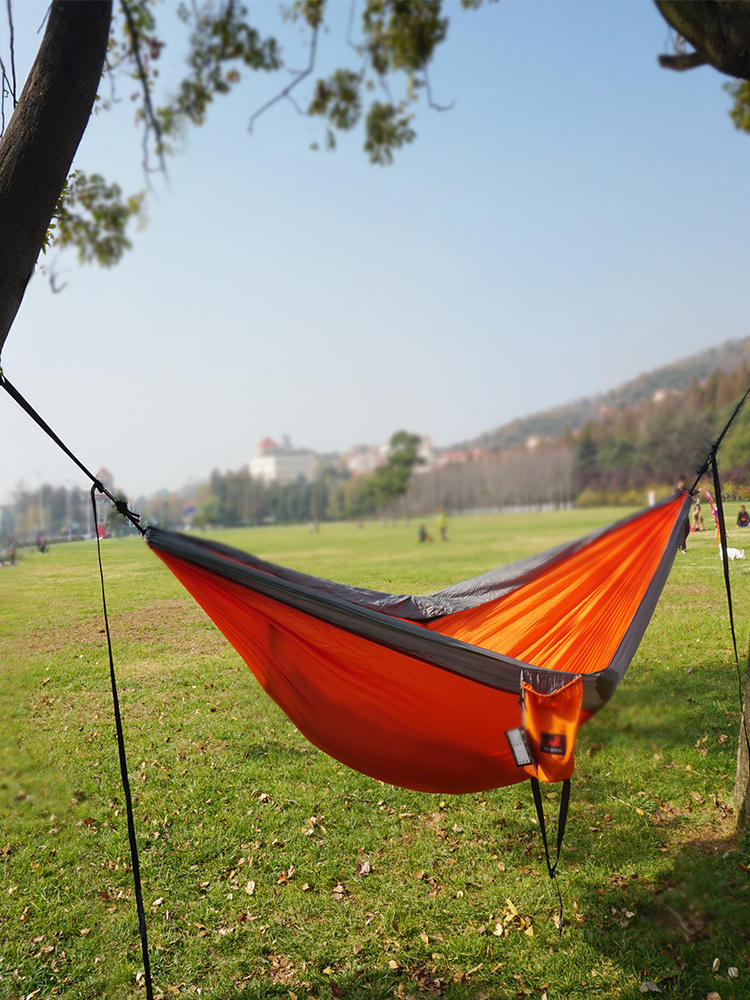 Hiking Hammock Backpacking Parachute Tourist Hanging Travel Nylon Outdoor Portable