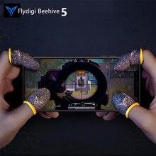 Kontroler do gier Flydigi Beehive rękawice Sweatproof 5 Generatio do gier telefonicznych, PUBG i innych profesjonalnych kciuków z ekranem dotykowym