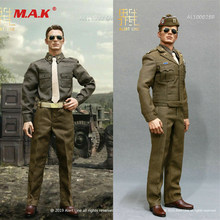 1In stock Alert Line 1/6 scale male clothes AL100028A/B Captain America WWII Army Officer Uniform Soldier Figure Clothes(China)