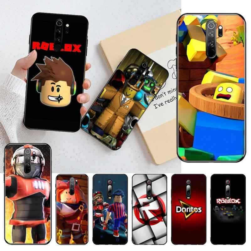 Cutewanan Roblox Video Game Luxe Unieke Ontwerp Telefoon Cover Voor Redmi Note 8 8A 7 6 6A 5 5A 4 4X 4A Go Pro Plus Prime