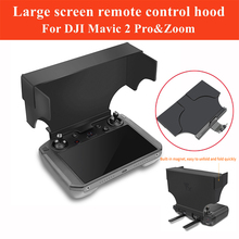 цена на Remote Controller with Screen Smart Controller Monitor Sunshade Hood For DJI Mavic 2 Pro&zoom Accessories Avoid Direct Sunlight