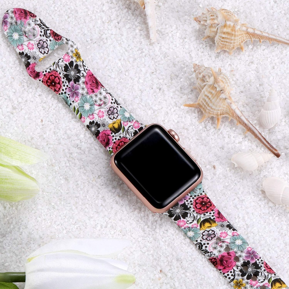 Floral Band for Apple Watch 321