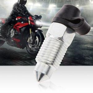 Image 5 - M10x1mm אופנוע בלם Caliper בורג נירוסטה הפטמה לדמם & אבק שווי עבור ימאהה הונדה סוזוקי KTM וכו אביזרי אופנוע