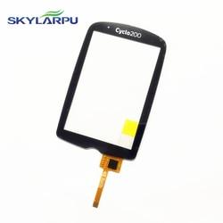 Skylarpu pojemnościowy panel dotykowy dla Mio Cyclo200  Cyclo 200 GPS cykl dotykowy ekran komputera digitizer część wymienna panelu w Ekrany LCD i panele do tabletów od Komputer i biuro na