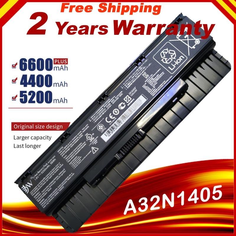 New Laptop Battery A32N1405 For Asus G551 G551J G551JK G551JM Battery For Laptop G771J G771JK N551J N551JW N551JM N551Z N551ZU