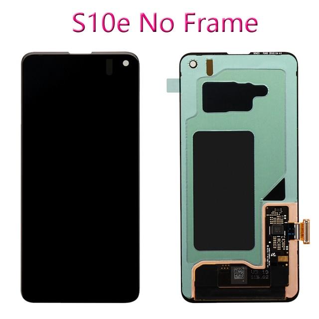 100% original display lcd para samsung galaxy s10e s10 display lcd g9730 s10 + mais display g9750 tela de toque digitador assembléia 2