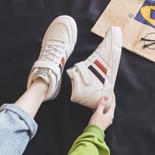 Весна 2020, новые спортивные кроссовки, модные, удобные, амортизирующие, Нескользящие, повседневные, высокие, с буквенным принтом, для движения, Женская Вулканизированная обувь