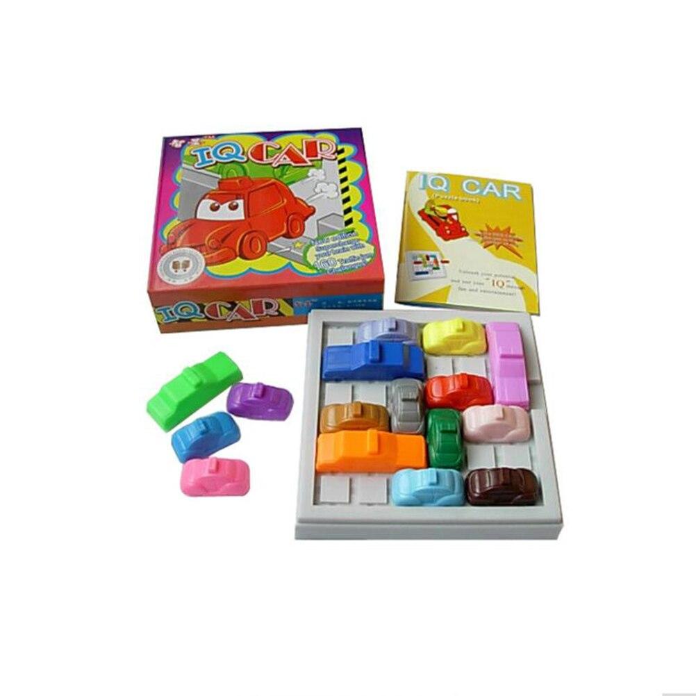 1 conjunto 3d quebra-cabeças jogo de brinquedo crianças brinquedos modelo de carro labirinto estacionamento estacionamento iq geométrico quebra-cabeça brinquedos educativos
