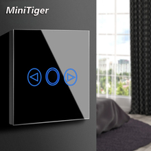 MiniTiger EU/UK Standard LED light Touch Switch Touch Sensor Dimmer Wall Power Touch Screen Touch light Switch Glass Panel цены онлайн