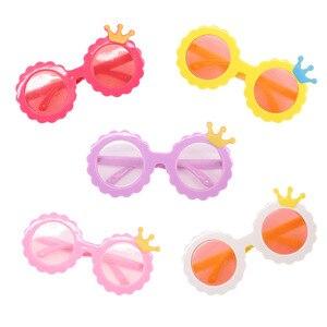 Кукла новая полированная милые очки с короной подходит 18 дюймов Американский 43 см детская кукла одежда аксессуары, девочки игрушки, поколен...