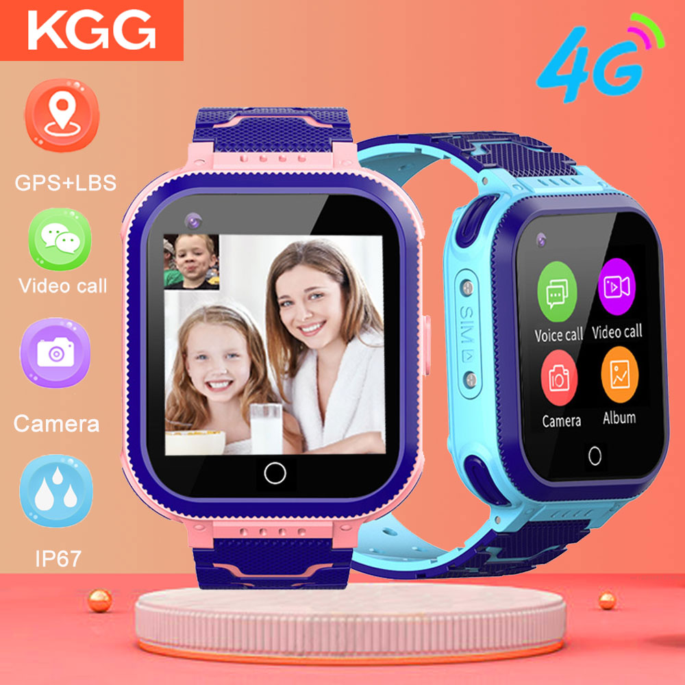 KGG T3 Kids Smart Watch <font><b>4G</b></font> video call GPS <font><b>smartwatch</b></font> 2.<font><b>4G</b></font>/5G WiFi 2 million pixels HD Camera IP67 Waterproof baby <font><b>SmartWatch</b></font> image