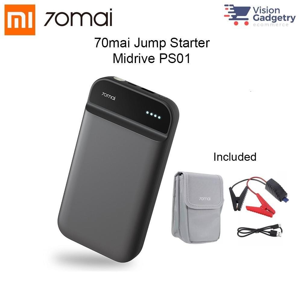 Xiaomi 70mai Jump Starter Auto Accessorie Booster Batterie Voiture 70 mai 12v car power bank 11100mah Starting Booster For Car