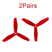 2Pairs GEMFAN HULKIE 5055S Racing FPV Propeller 3 Blades Paddle Support POPO