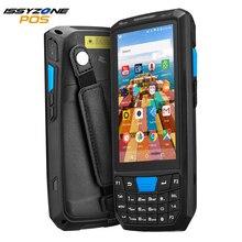 IssyzonePOS מוקשח אנדרואיד 8.1 כף יד מחשב כף יד סורק 1D 2D ברקוד סורק 4G WiFi Bluetooth GPS מחסן PDA נתונים אספן