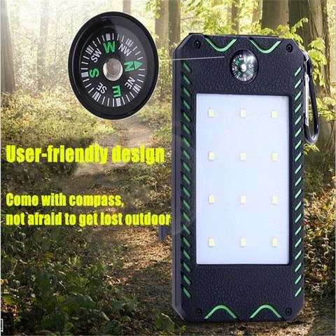 portatil led solar luz ao ar livre