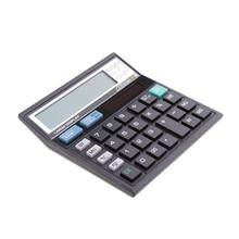 Электронный Настольный калькулятор с проверкой и правильный 12-разрядный ЖК-дисплей для офиса
