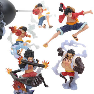 ONE PIECE Figure Gear 4 Monkey D. Luffy The straw hat Pirates Luffy Figure ONE PIECE Anime Collectible Model Gifts