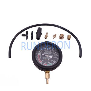 Image 1 - Car Repair Workstore Engine Intake Exhaust Pressure Detection Gauge Tools Kit