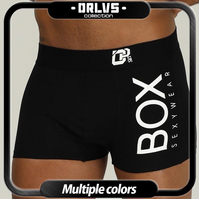 Boxer Cotton Shorts Calzoncillo U-Convex-Pouch Male Panties Men Underwear Breathable