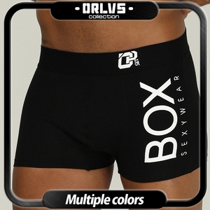 ORLVS Brand Men Underwear Boxer cotton mens underpants male panties shorts U convex pouch for gay breathable calzoncillo hombre