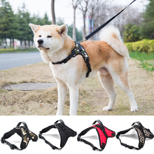 Hipidog Free Shipping Nylon Tactical No Pull Dog Harness Vest Heavy Strong Adjustable for Small Medium Big Dogs