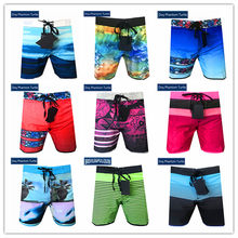 Hot Sale 2020 Brand Dsq Phantom Turtle Beach Board Shorts Men Elastic Spandex Swimwear Sexy Gay Adult Boardshort Plus Size S-XXL(China)