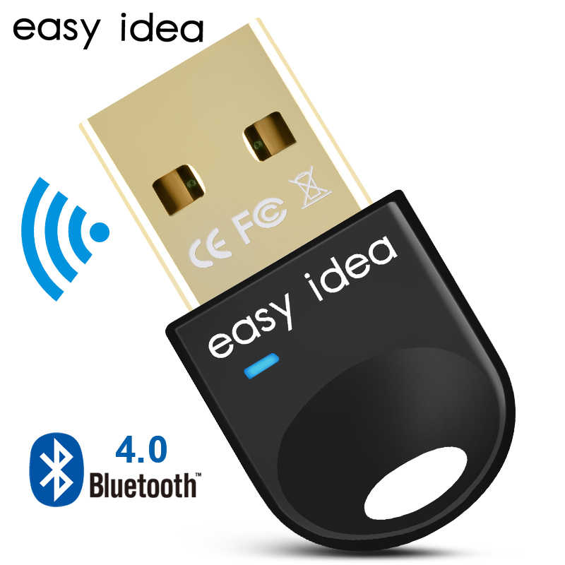 USB inalámbrico Bluetooth adaptador PC Dongle Bluetooth CSR 4,0 receptor de Audio Mini de alta velocidad del transmisor Bluetooth para PC ordenador