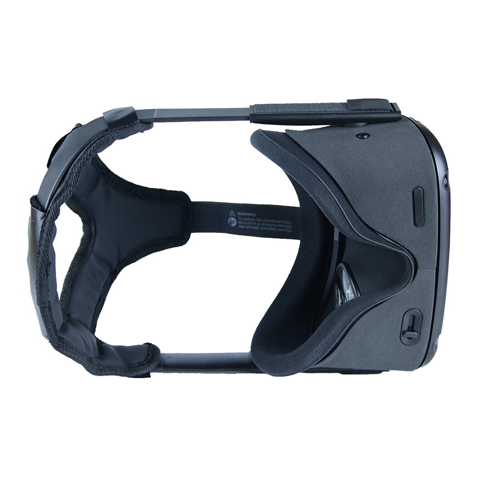 Newest Non slip VR Helmet Head Pressure relieving Strap Foam Pad for Oculus Quest VR Headset Cushion Headband Fixing Accessories
