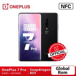 Смартфон OnePlus 7 Pro, Официальный магазин OnePlus, 6 ГБ, 128 ГБ, камера 48 МП, Snapdragon 855, экран 6,67 дюйма, 2K + AMOLED, разблокировка, UFS3.0