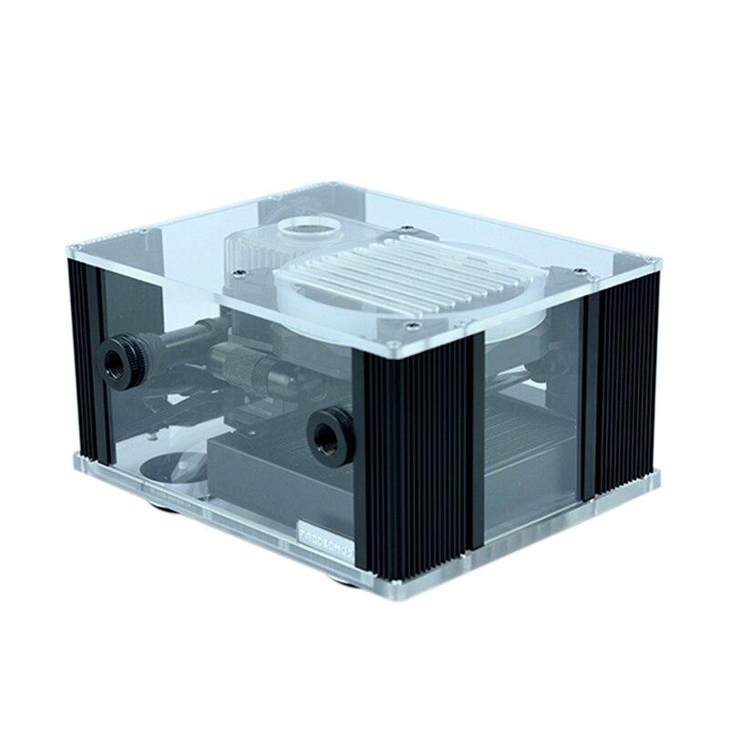 Мод FREEZE для охлаждения воды, интегрированный интеллектуальный блок с дисплеем температуры, RGB эффект, для внешнего использования, с функцие