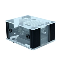 FREEZE MOD BOX 12YT External Water Cooling Integrated Intelligent Box Temperature Display RGB Effect