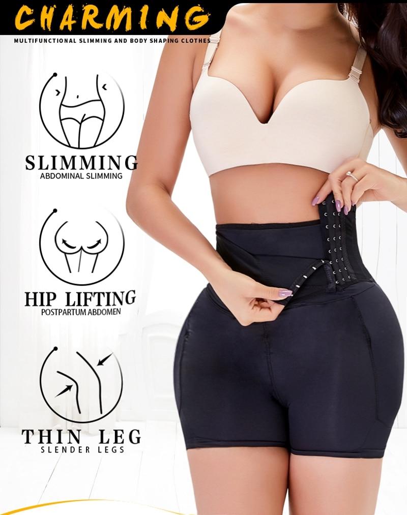 Details about  /Sexy Panties Fake Butt Pad Padding Buttocks Enhancer Butt Lifter Booster Shaper