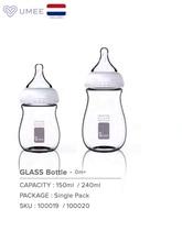 Umee 150 мл бутылочка для кормления ребенка Стекло бутылка красочные
