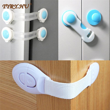 10Pcs% 2FLot + Child + Lock + Protection + Of + Children + Locking + Doors + For + Children% 27s + Safety + Kids + Safety + Plastic + Protection + Safety + Lock