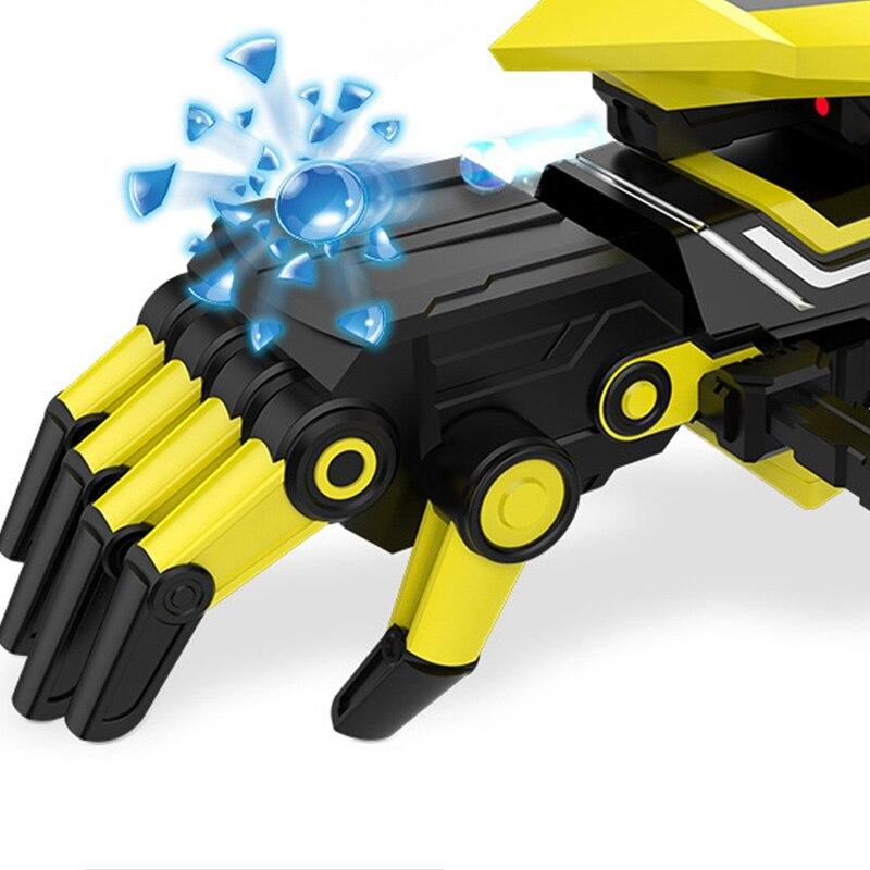 Deformación inteligente juguete eléctrico ráfaga juguete para niños brazo Robot - 3