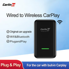Carlinkit беспроводной адаптер carplay для bmw audi volvo оригинальный
