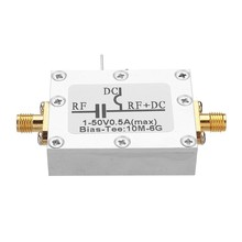 RF Biaser Bias Tee 10MHz-6GHz DC Blocker Coaxial Feed for HAM Radio RTL SDR LNA Low Noise Amplifier Bias Tee Drive(China)