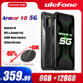 Ulefone Rüstung 10 5G Robuste Handy Android 10 8GB + 128GB Wasserdichte Smartphone/IP68 IP69K/ 6.67