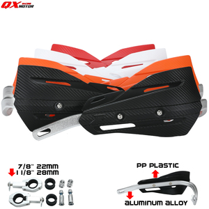 Universal Motorcycle Hand Guards Handguard For CRF YZF KLX KXF KTM EXC EXCF SX SXF Dirt bike MX Motocross(China)