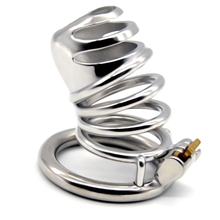 72mm 304stainless steel cock ring man chastity lock penis cage for male device sex toys