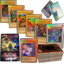 60PCS/Set Yugioh Rare Flash Cards Yu Gi Oh Game Paper Kids Toys Girl Boy Collection Yu-Gi-Oh Christmas Gift With Box