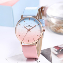 2019 new luxury watch women  hot ladies simple leather quartz womens student casual reloj de mujer
