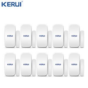 Gap-Sensor Door-Window-Detector Kerui Home-Alarm-System Wireless D025 for Touch-Keypad