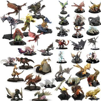 Japan Anime Monster Hunter World XX Monsters Figures Collectible Action Figure Generations Ultimate 4G 3Ds PVC Model Toy 7 8 neca predator ultimate 30th anniversary jungle hunter pvc action figure jungle hunter unmasked collectible model doll toys