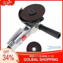 Pnömatik parlatıcı hava açı öğütücü Mini yüksek hızlı 4 inç gümüş/mavi makine için cilalı/taşlama kesme pnömatik aracı