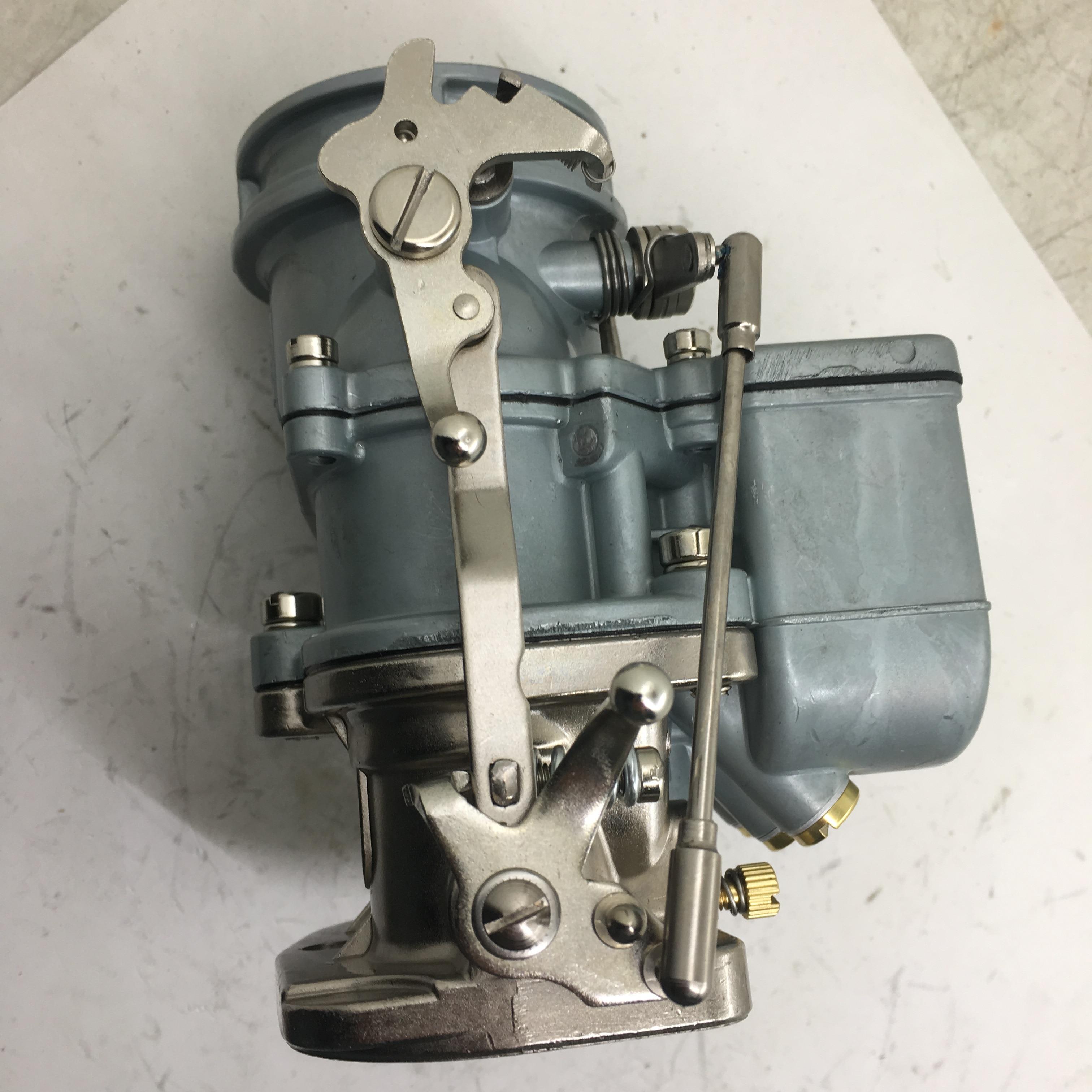 SherryBerg gorący pręt OEM gaźnik dla Ford Flathead gaźnik Super 97 naturalne wykończenie 2-Bbl 97 wymienić STROMBERG