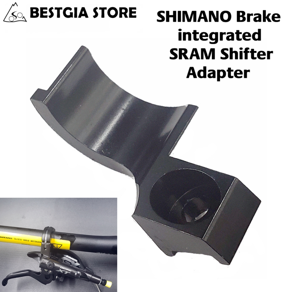 ZRACE XTR/<font><b>XT</b></font>/SLX/DEORE Brake integrated SRAM Shifter Adapter,SHIMANO Brake&SRAM Shifter 2 in 1 For Brake M9020/M9000/<font><b>M8020</b></font> 4.5g image